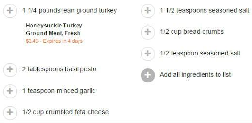 Pesto Burgers recipe