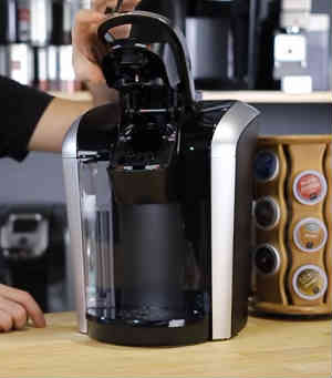 Using Keurig Coffee Maker