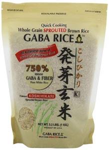 Koshihikari Premium Sprouted Brown Gaba Rice
