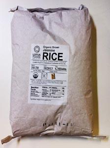 Lotus Foods Gourmet Organic Brown Jasmine Rice