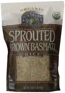 Lundberg Family Farms Sprouted Brown Basmati Rice