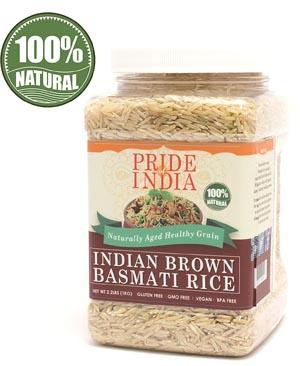 Pride Of India - Extra Long Brown Basmati Rice